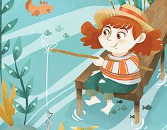 "Check out new work on my @Behance portfolio: ""Giadina goes to fishing"" http://be.net/gallery/54224565/Giadina-goes-to-fishing"