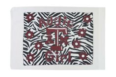 """Standard Pillowcase - Texas Aggie Girl by Ear Mitts; EarMitts; Bunnies and Bows. $19.95. Great gift for alumni, students, and kids of all ages!. Available personalized. 50/50 Cotton/Poly Blend; 180 Thread Count. Durable silk screen printing. Standard 32""""x21"""" size; Fits Standard-Size Pillow. These quality pillowcases are the perfect gift for proud alumni, students, or their children or siblings! These will be a big hit, so be sure to order enough to go around. Also available pers..."""