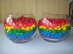 Ms at a Rainbow Party #rainbow #M
