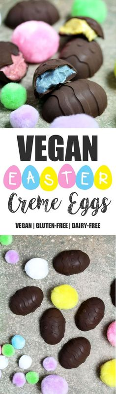 Vegan Easter Creme Eggs What is Easter without a creme egg or two? Or at least some sort of egg shaped chocolate. During my Uniyears I used to promise myself I would eat at least…