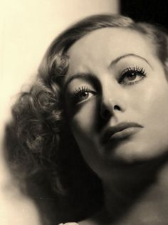 Joan Crawford. Old Hollywood glamour