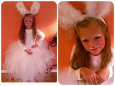 Home made Bunny Costume