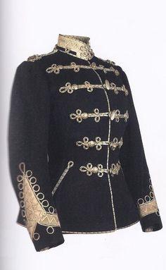 Alexandra's tunic from her uniform as commander-in-chief of the 5th Aleksonariya Hussars