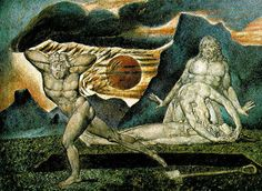 artwork: William Blake - The Body of Abel Found by Adam and Eve ,c. - Watercolor on wood, 32 x 43 cm. William Blake Paintings, William Blake Art, Kain Und Abel, Adam Et Eve, C G Jung, Arte Tribal, Watercolor On Wood, Watercolor Lesson, Biblical Art