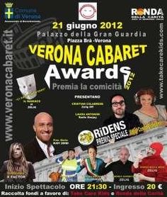 Verona Cabaret Award 2012 il 21 giugno 2012