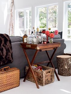 Welcoming living room - House tour: Colourful eclectic cottage