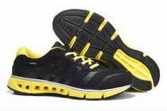 best website aa2d5 5a02f Adidas Climacool Aerate V5 Sort Gul Herre