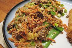 Steak and Shiitake Fried Rice