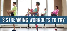 In the digital age, working out from home just got easier with these classes you can video stream!