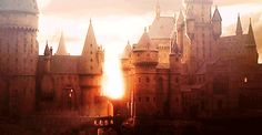 And when the light hits Hogwarts just right, you can't help but smile as your heart fills with love.   45 Times Harry Potter Fans Lost Their Cool At The Movie Theater