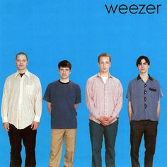 Weezer Blue Album Vinyl LP Nirvana Blink 182 Green Day Jimmy Eat World Thursday Weezer, Music Love, Music Is Life, Rock Music, My Music, Music Wall, Indie Music, Back To Black, Green Day