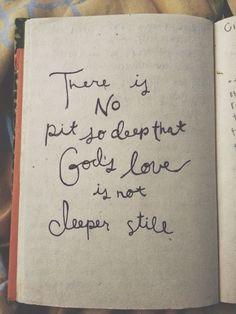 God's love..