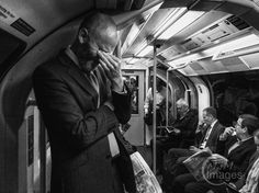 Day 100 - commuter sums up tube travel