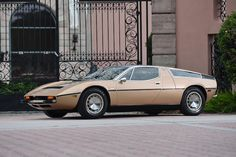 <b>1974 Maserati Bora 4.9</b> <br />Chassis no. AM117/49-US762<br />Engine no. AM107/11/49 762