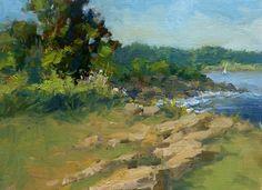 "Summer Coast by Jonathan McPhillips Oil ~ 12"" x 16"""