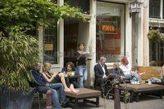 Cafe Finch   Amsterdam - Noordermarkt Jordaan   Old time fav..
