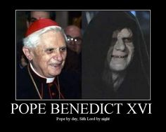 Sith Lord Ratzinger