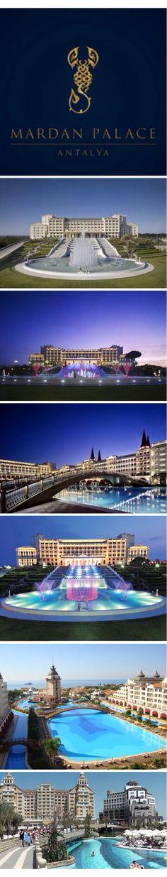 Mardan Palace In Antalya, Turkey Is Luxury Beyond All Meaning. With 11  Italian Restaurants