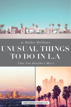 Los Angeles, it's on! 25 Cool things to do in Los Angeles California. Are you ready to rock your travels? It's time to explore the City of Angels. Amazing food, beaches and cool places usa travel la 50454458312714804 Places To Travel, Travel Destinations, Places To Go, La Things To Do, Los Angeles Travel Guide, City Of Angels, Road Trip Usa, Usa Trip, California Travel