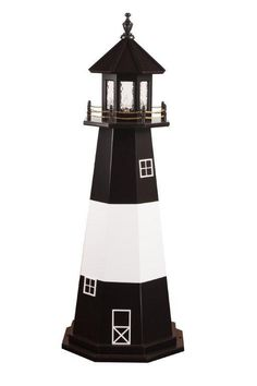 amish tybee island ga wooden garden lighthouse - Amish Lighthouse Plans