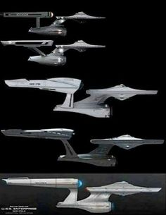 USS Enterprise (NCC-1701) Evolution.....