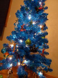 Sometimes Creative: Christmas  Ornaments made from small toys!!!  What a way to save memories!
