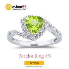 #Peridot rings, #Wedding Rings, #Engagement Rings