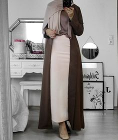 Muslim Fashion, Modest Fashion, Hijab Fashion, Fashion Outfits, Modest Outfits, Skirt Outfits, Hijab Outfit, Minimal Fashion, Duster Coat