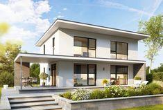 Kötz Haus: KÖTZ-Haus 132 Modern House Floor Plans, Simple House Plans, Pergola, Box Houses, Container House Design, House Extensions, Facade House, Model Homes, Contemporary Architecture