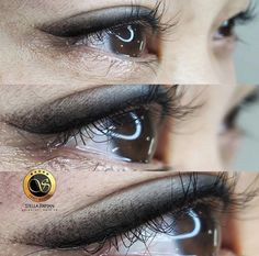 Stella Ink LA - Specializing in Permanent Makeup solutions in Los Angeles. Using the Microblading and Microstroking Methods. Eyebrow Tattoo Removal, Eyeliner Tattoo, Makeup Tattoos, Smokey Eyeliner, Permanent Makeup Eyebrows, Eyeliner Looks, Classic Eyeliner, Thicker Eyelashes, Natural Eyebrows