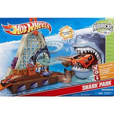 "Hot Wheels KidPicks Shark Park - Mattel - Toys ""R"" Us"