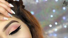 Huda Beauty Rose Gold Textured Palette / Thanksgiving Makeup Tutorial - YouTube