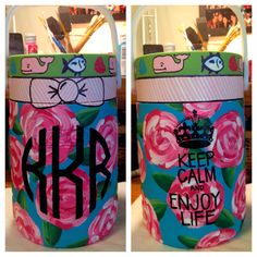 Painted cooler love this idea!