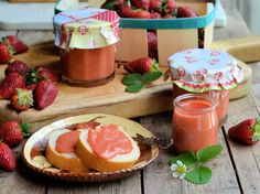 Fresh Strawberry Curd (Recipe) - really want to try this :)