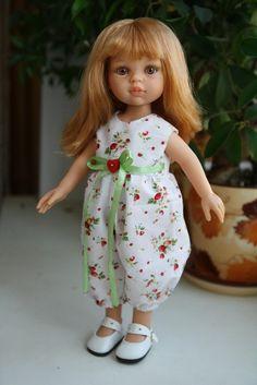 Выкройка для кукол 27-32 см (Gotz vs Paola Reina) / Мастер-классы, творческая мастерская: уроки, схемы, выкройки кукол, своими руками / Бэйбики. Куклы фото. Одежда для кукол