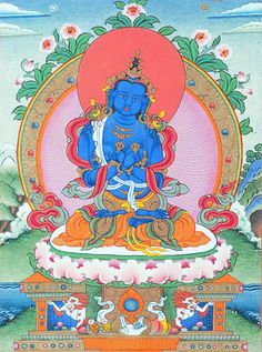 Vajradhara is the founder of Vajrayana Buddhism, or Tantra. He is the same mental continuum as Buddha Shakyamuni but displays a different aspect. ~ New Kadampa Tradition (NKT)