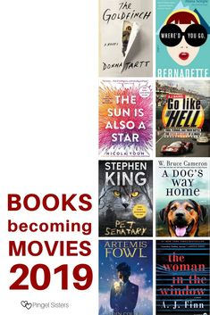 This year is bringing a number of exciting movies based on books. Be sure to catch these 20 books becoming movies in 2019 before they hit the theaters. Book Club Books, Book Lists, Big Books, Reading Lists, Best Books To Read, Great Books, Books Turned Into Movies, Philosophy Books, Reading Challenge