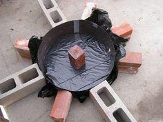 Another hypertufa idea...for a millstone