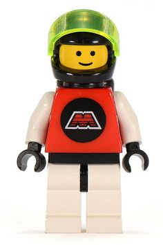 Adult Collector Owned Lego Lot of 1 Space Alien Pilot Minifigure