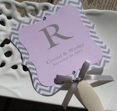 Not Exactly This Idea But Good To Put The Ceremony Program On A Fan Wedding Ideas For Karisa Pinterest Tiffany Blue Weddings And