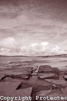 Bay of Skaill Beach on the Orkney Islands, Scotland in Black and White from www.kevingeorge.photoshelter.com