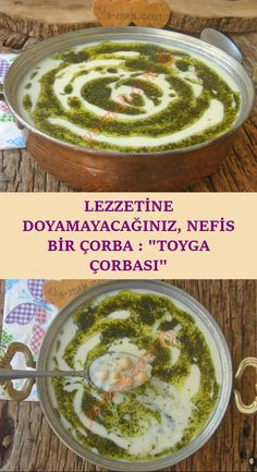 One of the traditional and most special soups of Turkish cuisine . - Pratik Hızlı ve Kolay Yemek Tarifleri Turkish Recipes, Ethnic Recipes, Turkish Kitchen, Food Plating, Soup Recipes, Vegetarian Recipes, Sandwiches, Food And Drink, Nutrition
