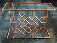Copper Pipe table ?