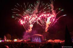 Beautiful Days 2014 firework finale