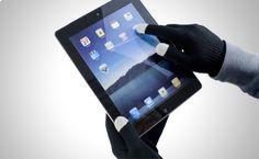 Guantes para utilizar tus dispositivos electrónicos táctiles sin la necesidad de quitártelos a partir de 11,90€ http://www.doferta.com/guantes-para-pantallas-tactiles.html