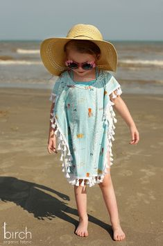 Tutorial   Fun In The Sun Any Size Swim Cover Up   by Christina McKinney