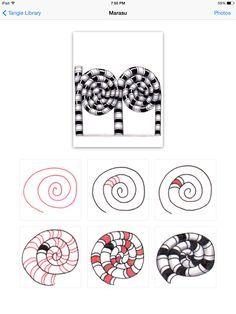 Marasu pattern #Zentangle #marasu #official #78