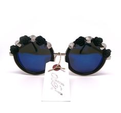 Envío gratuito en Junio Gafas de sol por GloriaSanchezArtist