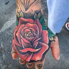 We're suckers for a clean, eye-catching Rose like this job stopper by Travis Boyd (@travisboydtattoo) out of Indianapolis, IN. Check him out! Thank you for your support, Travis!