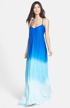 Young, Fabulous & Broke 'Fortune' Ombré Maxi Dress available at #Nordstrom